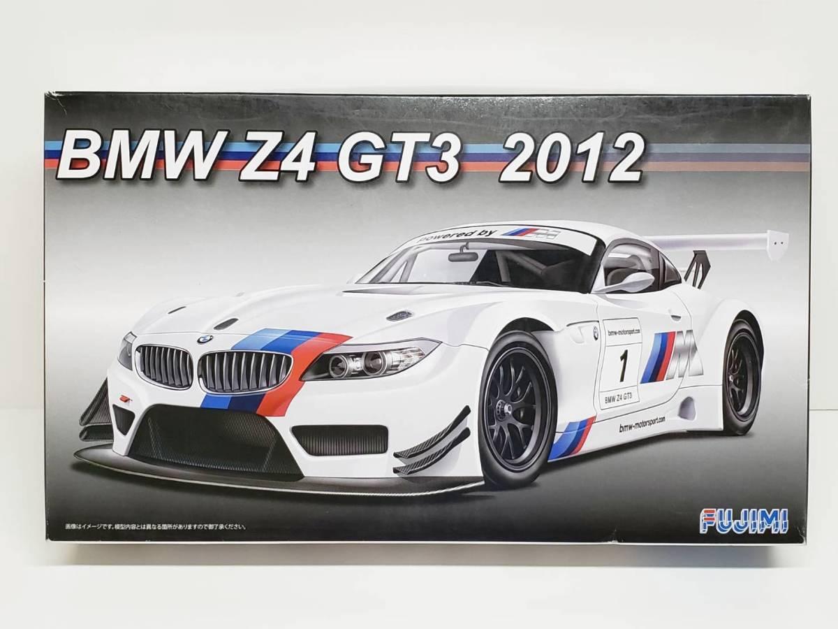 ジャンク デカール切取 BMW Z4 GT 2012 フジミ 1/24◆Pi92B