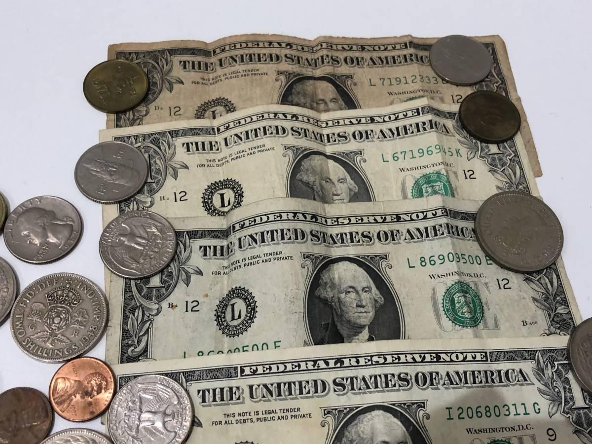 1円スタート! 外国銭おまとめ 米ドル アメリカ リバティ 韓国 中国 台湾 ヨーロッパ など◆3680A_画像3