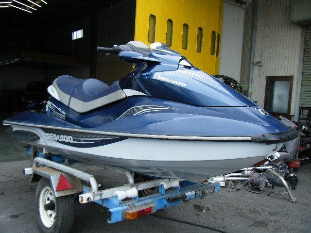 シードゥー 3人のり バック付き 入門艇 4スト GTI-SE130 愛知から売切り 船検付き 検索 GTX IS 4サイクル 実働 155 185 215 255 260 300