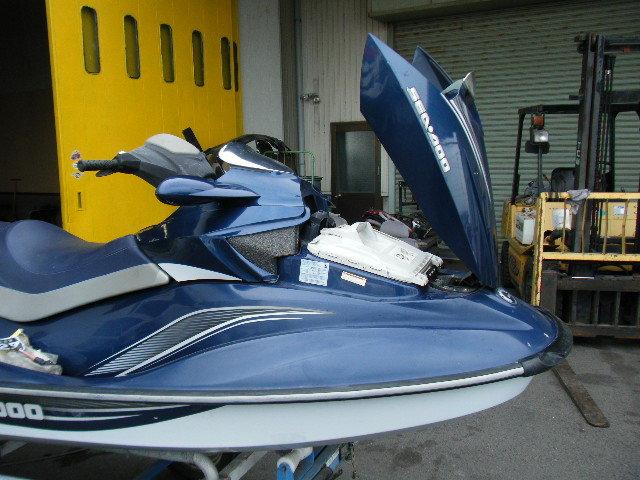シードゥー 3人のり バック付き 入門艇 4スト GTI-SE130 愛知から売切り 船検付き 検索 GTX IS 4サイクル 実働 155 185 215 255 260 300_画像6