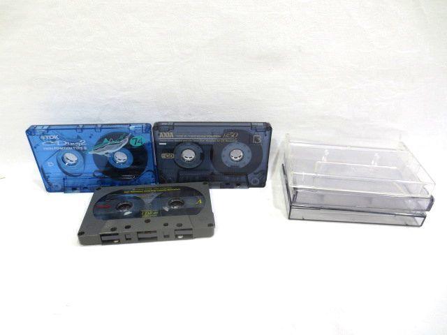 ♪TDK AXIA maxell ハイポジ カセットテープ まとめて3本 中古☆HIGH CrO2 46分 50分 74分_画像2