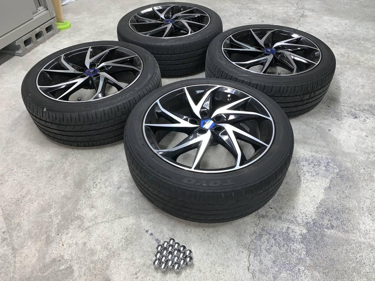プリウス 50系 モデリスタ 17インチ アルミホイール&タイヤセット 1台分 ナット付き 売り切り