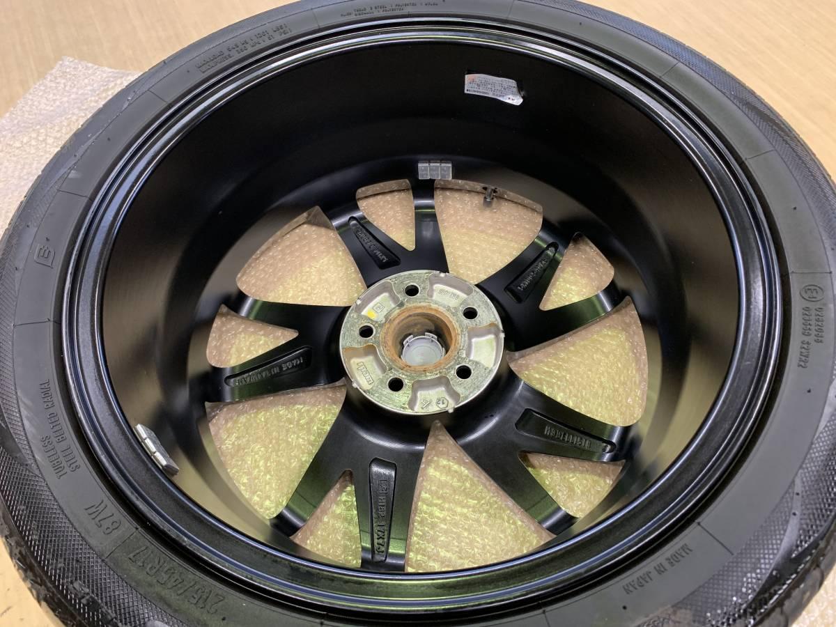 プリウス 50系 モデリスタ 17インチ アルミホイール&タイヤセット 1台分 ナット付き 売り切り_画像9