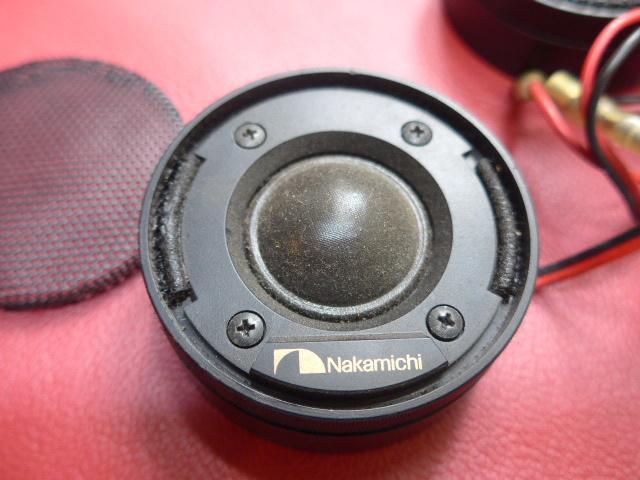 ツイーター ナカミチ SP-10 ジャンク扱い ローバーミニ その他一般車 定格20w 最大40w フロントスピーカー_画像4