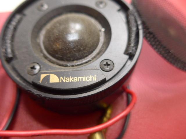 ツイーター ナカミチ SP-10 ジャンク扱い ローバーミニ その他一般車 定格20w 最大40w フロントスピーカー_画像5