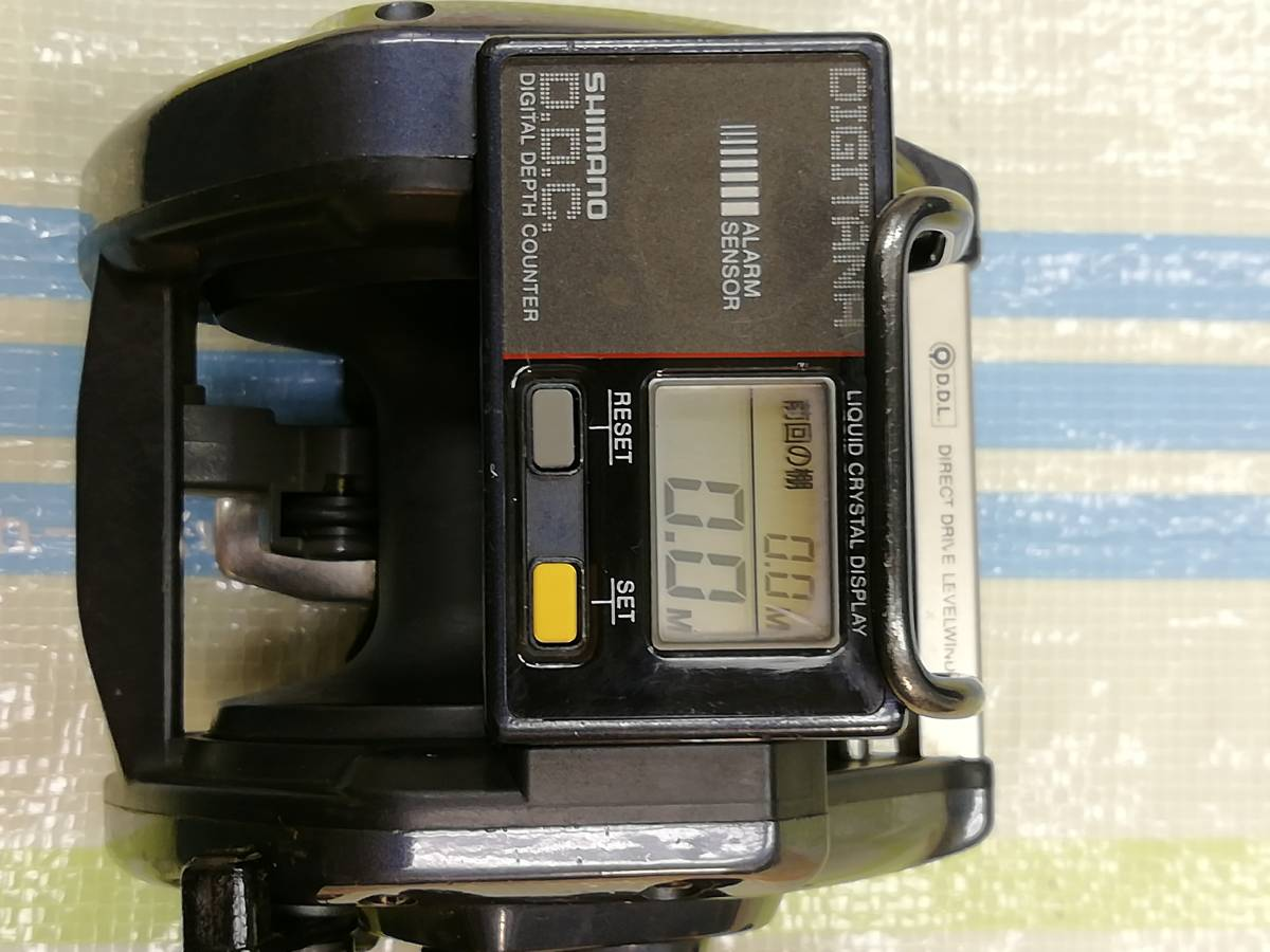 SHimano TITANOS DIGITANA 船GT4000 両軸リール USED品_画像10