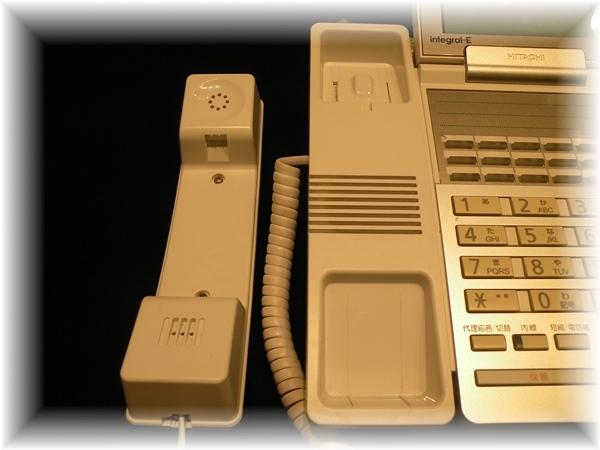F6500 日立 HITACHI 18ボタン 標準電話機 ビジネスフォン ET-18iE-SD_画像7
