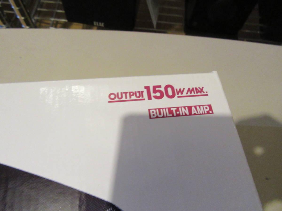 Carrozzeria TS-WX120A 20㎝×13㎝ アンプ内蔵 パワードサブウーファーシステム 新品購入 未使用 未開封品 1円スタート売り切り 送料着払い_画像3