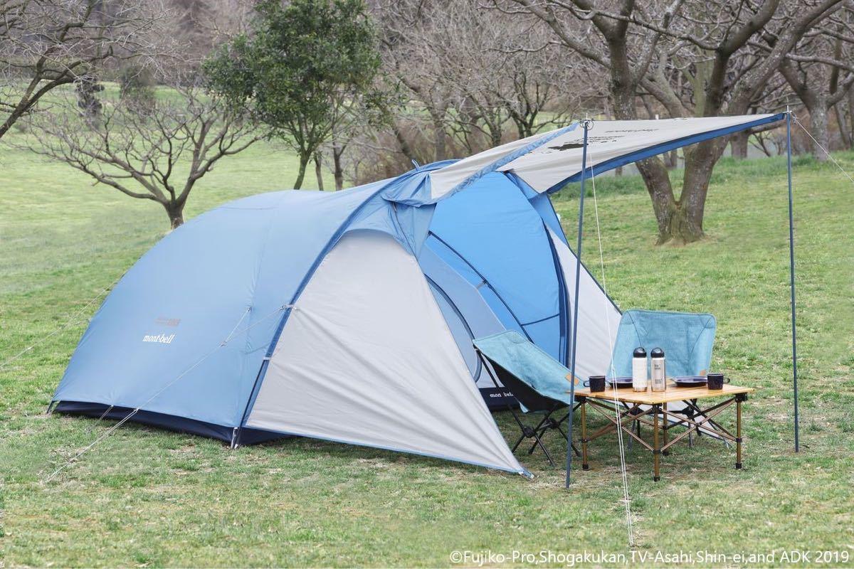 モンベル ドラえもんコラボクロノスキャビン三型テント未使用品_画像2