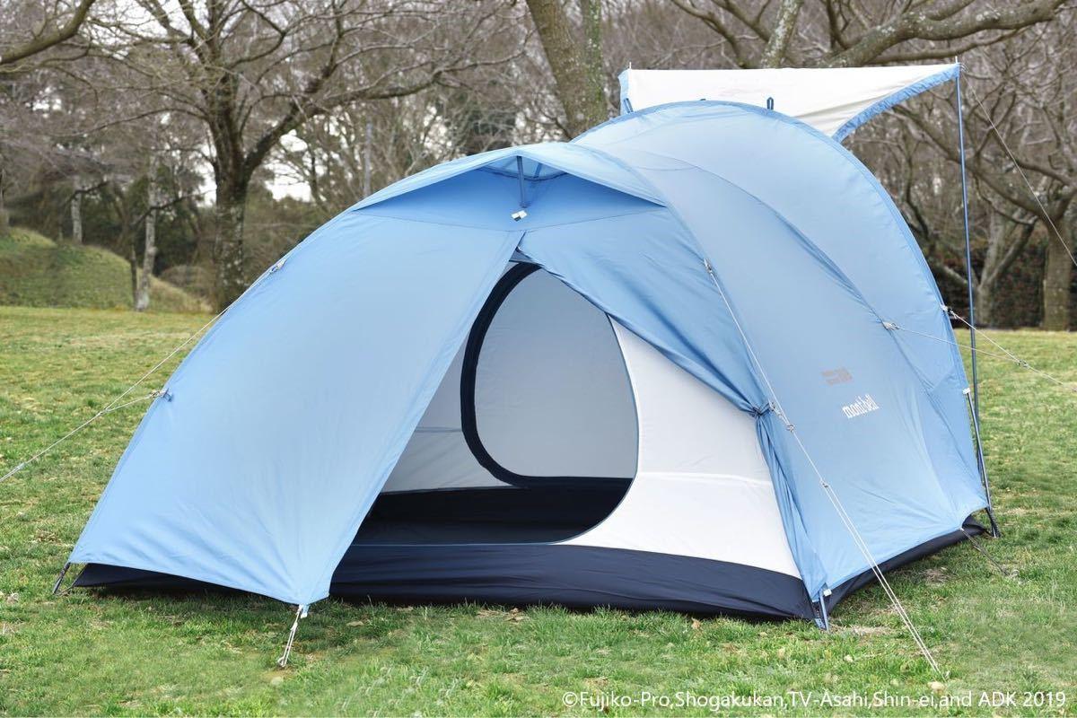 モンベル ドラえもんコラボクロノスキャビン三型テント未使用品_画像5