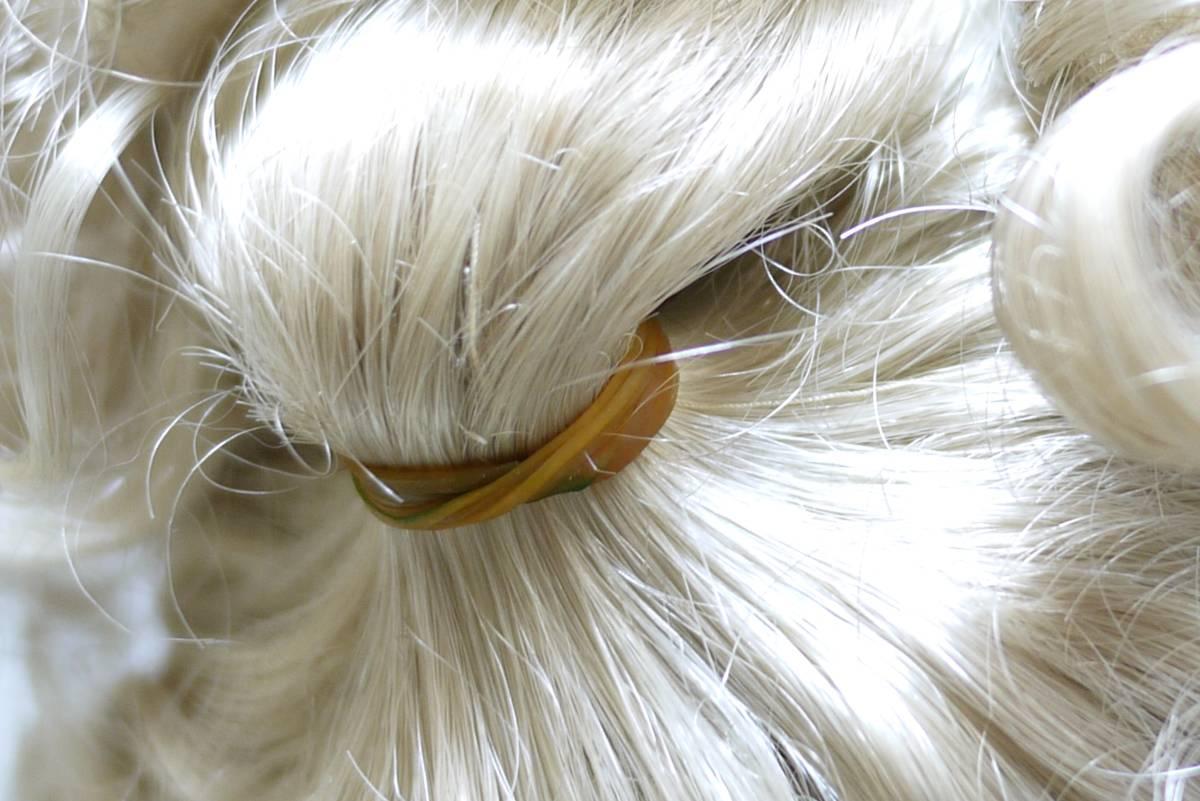 7*フランス人形 西洋人形 レトロ ビスク人形 女の子 Dalm97 MNO レース ドレス 木製 約52cm 置物 ディスプレイ アンティーク 骨董 1円から_画像6