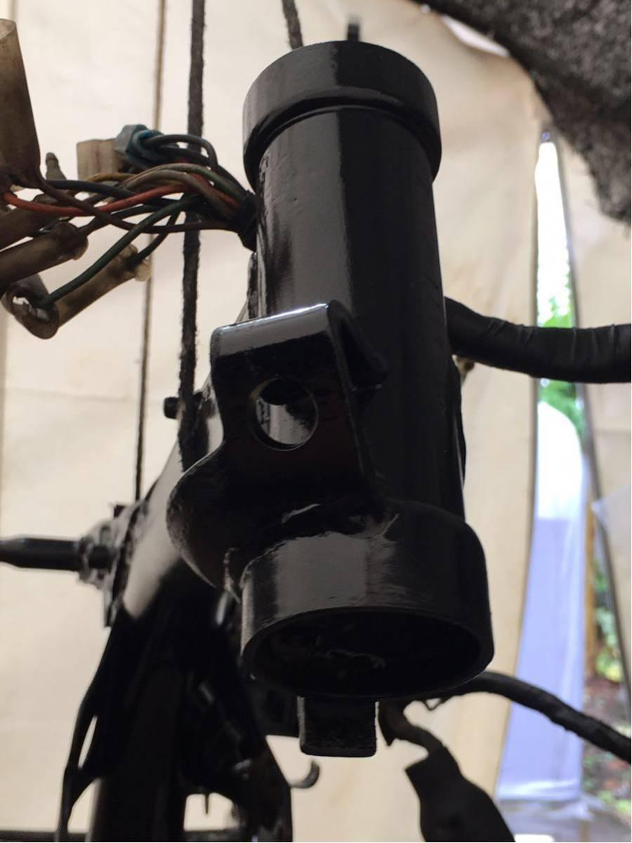 モンキー ゴリラ Z50J フレーム 書類有り 塗装済み 6V 4L スイングアーム メインハーネス ブレーキペダル 電装品 チェーンカバー_画像3