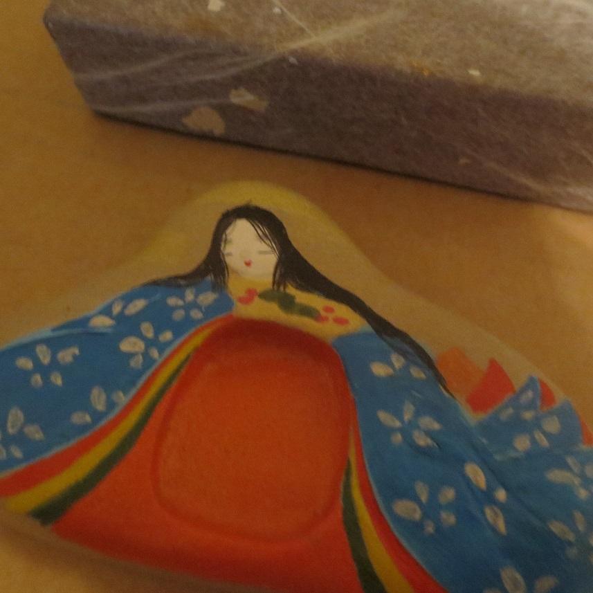 京都 人形硯 姫硯_画像3