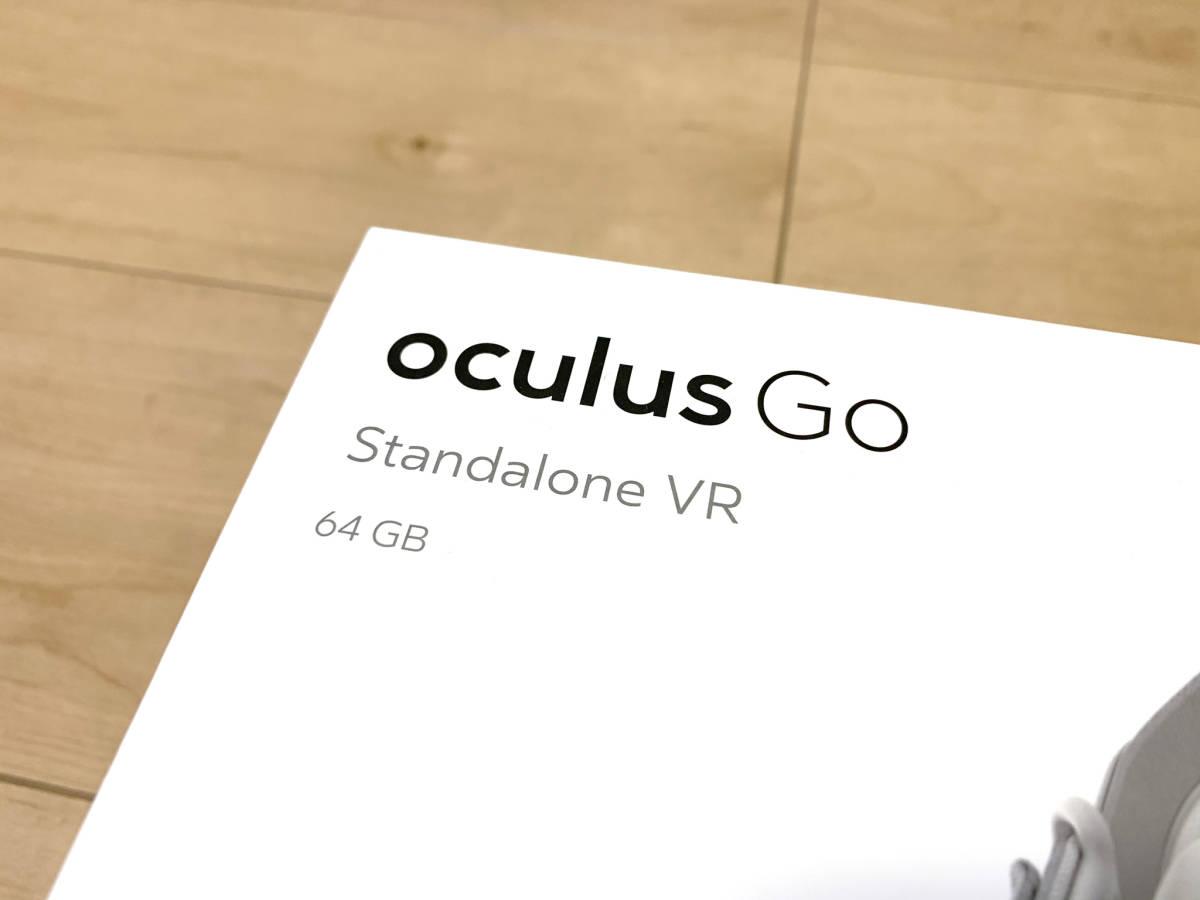 【送料無料】「OculusGo 64GB」+「接顔パーツ(フィット)」(オキュラスゴー)VRヘッドセット【中古・動作確認済み】_画像2