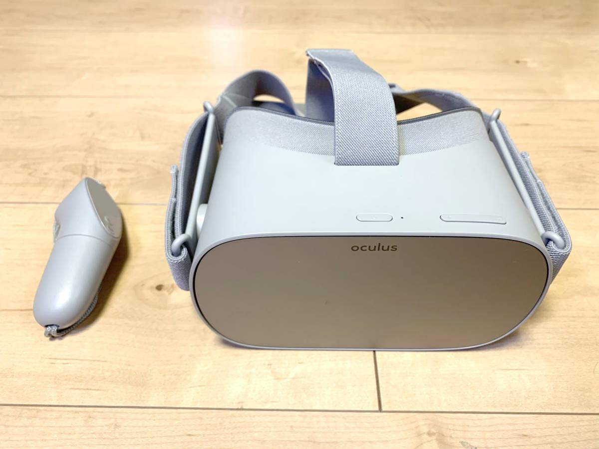 【送料無料】「OculusGo 64GB」+「接顔パーツ(フィット)」(オキュラスゴー)VRヘッドセット【中古・動作確認済み】_画像3