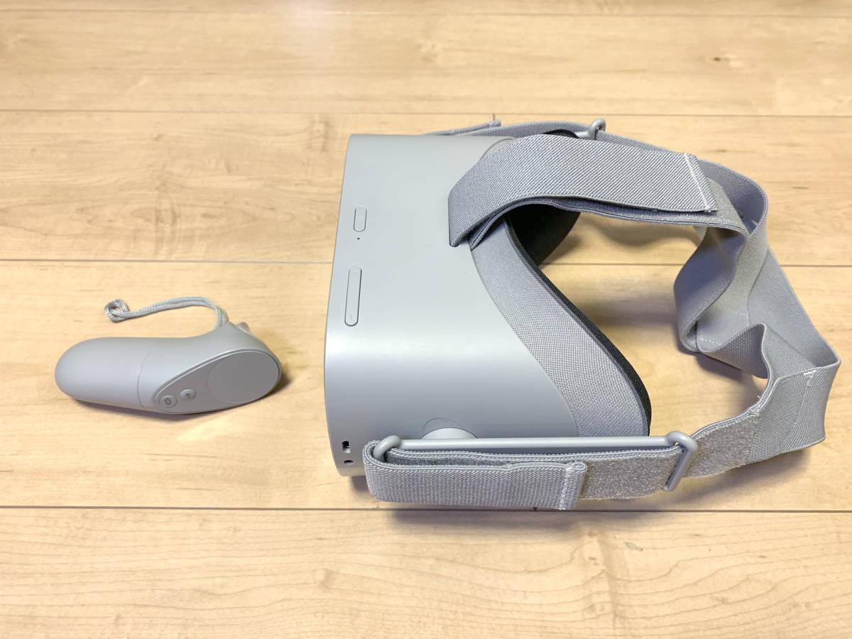 【送料無料】「OculusGo 64GB」+「接顔パーツ(フィット)」(オキュラスゴー)VRヘッドセット【中古・動作確認済み】_画像4