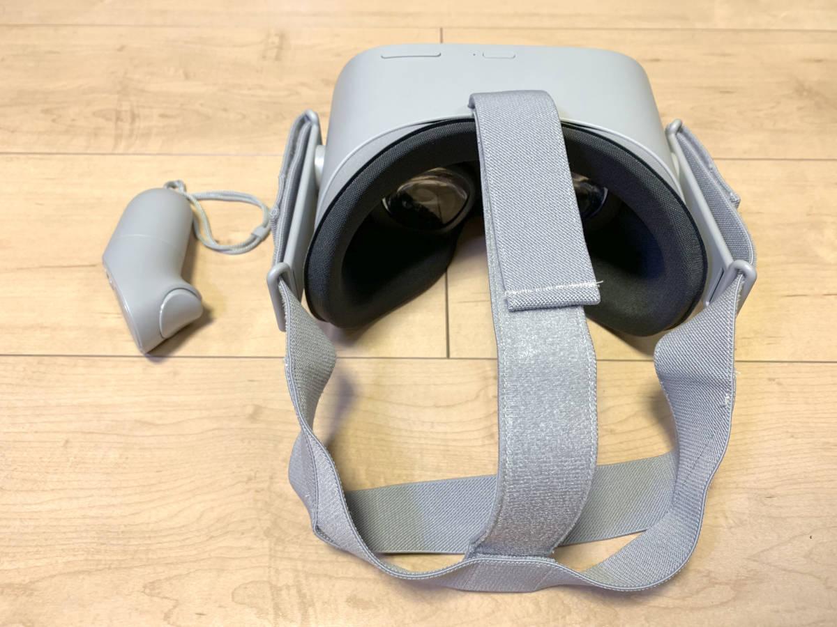 【送料無料】「OculusGo 64GB」+「接顔パーツ(フィット)」(オキュラスゴー)VRヘッドセット【中古・動作確認済み】_画像5