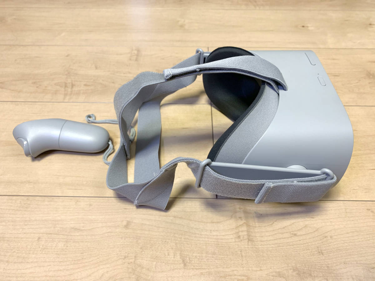 【送料無料】「OculusGo 64GB」+「接顔パーツ(フィット)」(オキュラスゴー)VRヘッドセット【中古・動作確認済み】_画像6