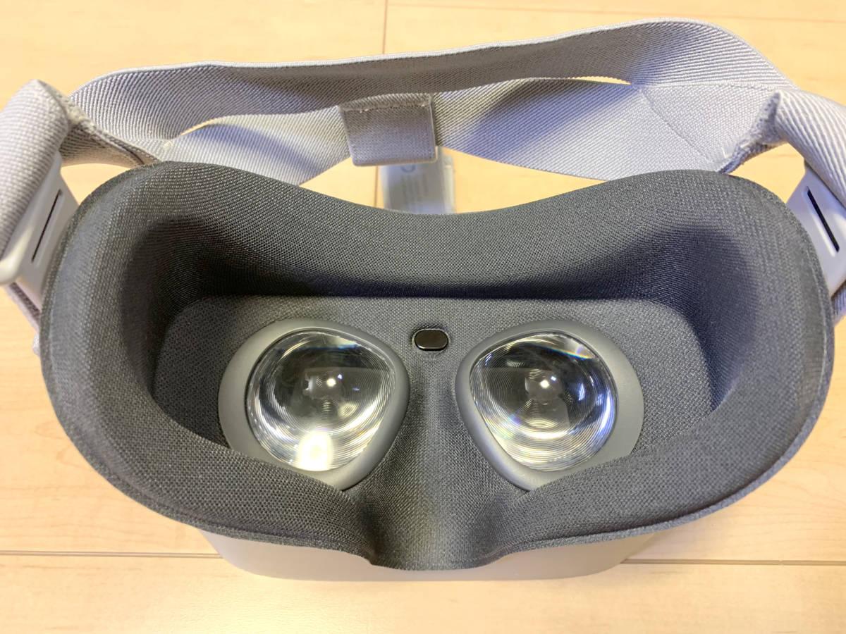 【送料無料】「OculusGo 64GB」+「接顔パーツ(フィット)」(オキュラスゴー)VRヘッドセット【中古・動作確認済み】_画像7