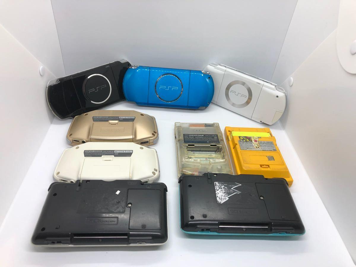 【大量】【ポータブルゲーム機】 PSP 3000 1000 ゲームボーイ カラー ポケット アドバンス DS ソニー sony 任天堂 動作未確認 ジャンク扱い_画像6