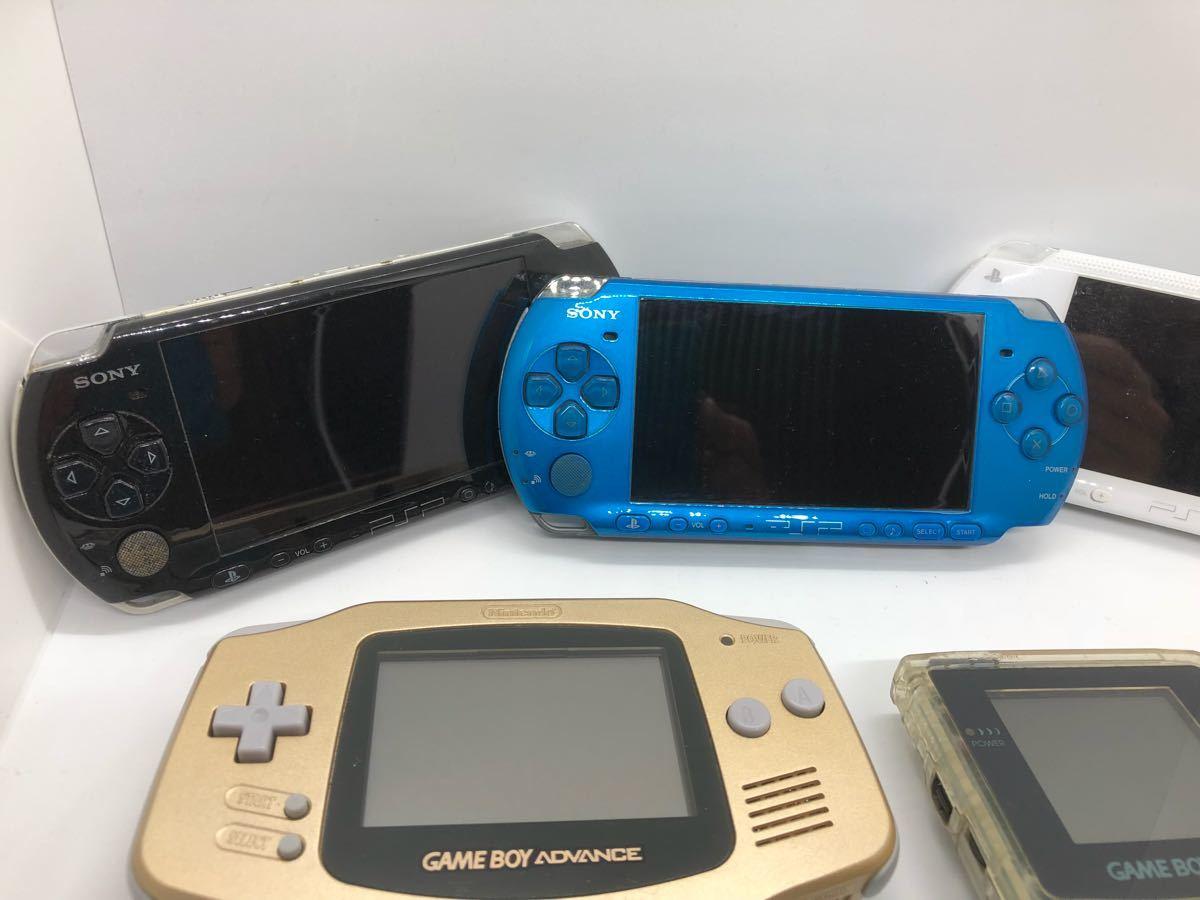 【大量】【ポータブルゲーム機】 PSP 3000 1000 ゲームボーイ カラー ポケット アドバンス DS ソニー sony 任天堂 動作未確認 ジャンク扱い_画像5