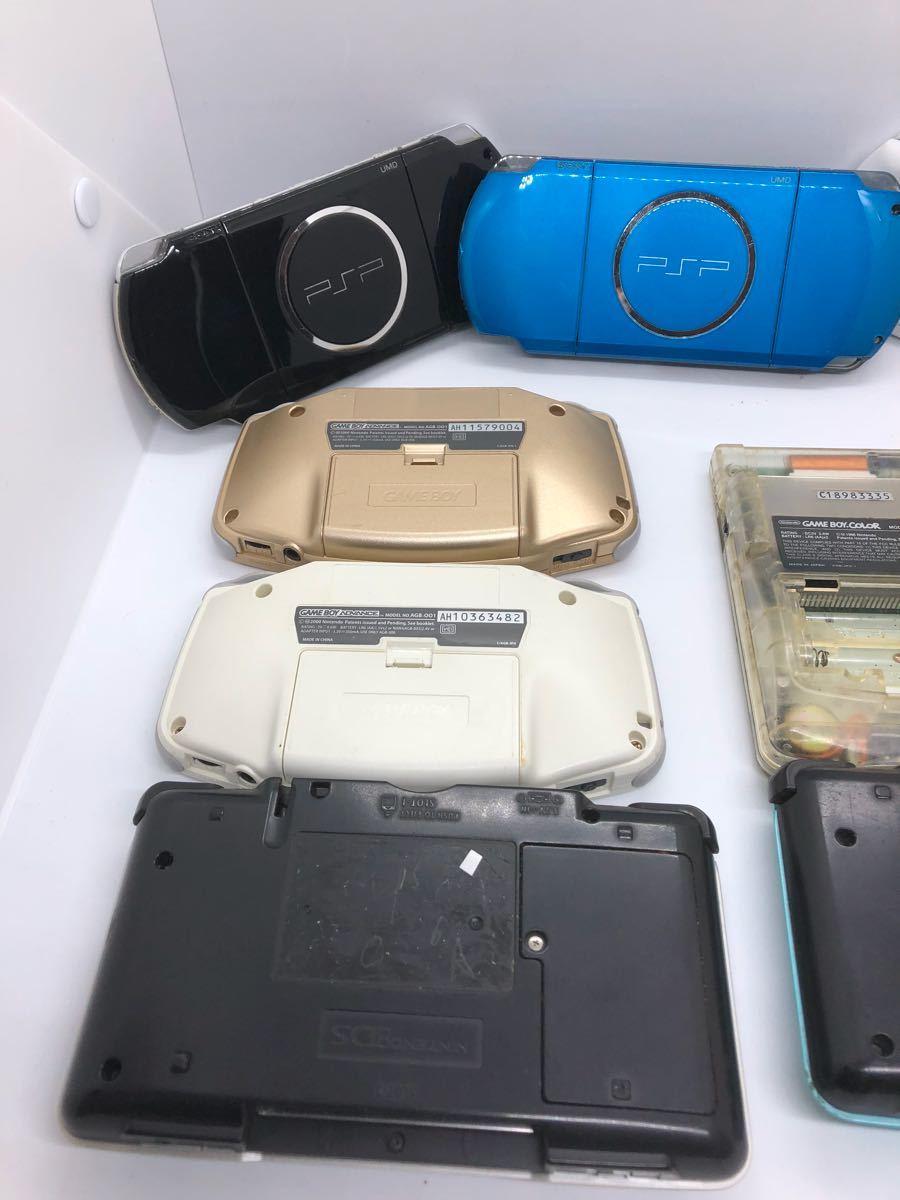 【大量】【ポータブルゲーム機】 PSP 3000 1000 ゲームボーイ カラー ポケット アドバンス DS ソニー sony 任天堂 動作未確認 ジャンク扱い_画像7