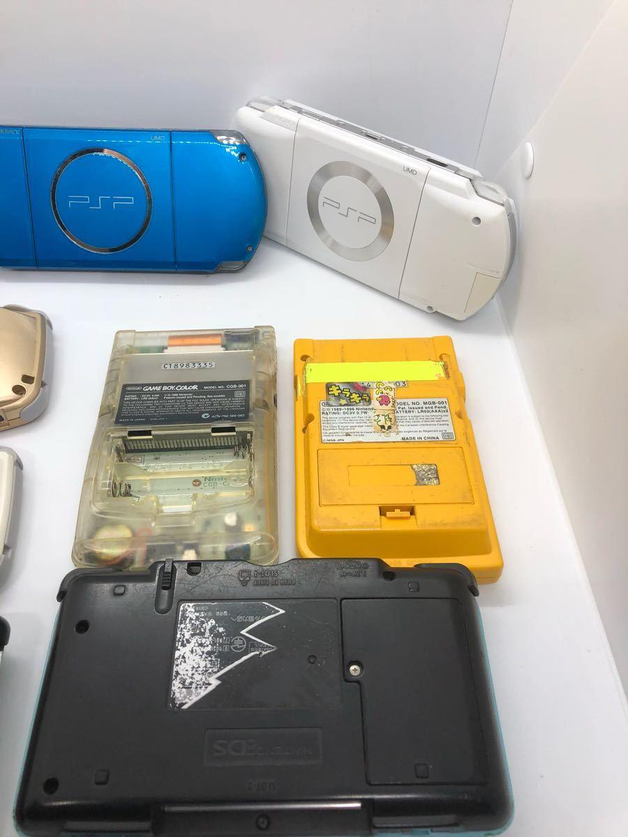 【大量】【ポータブルゲーム機】 PSP 3000 1000 ゲームボーイ カラー ポケット アドバンス DS ソニー sony 任天堂 動作未確認 ジャンク扱い_画像8