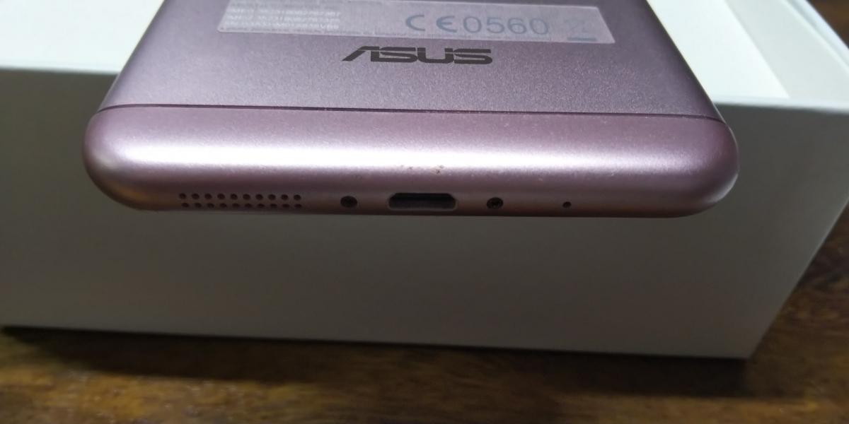 保証残あり ASUS Zenfone3 Max 5.5 ZC553KL ピンク スマホ本体 SIMフリー 箱 付属品あり_画像4