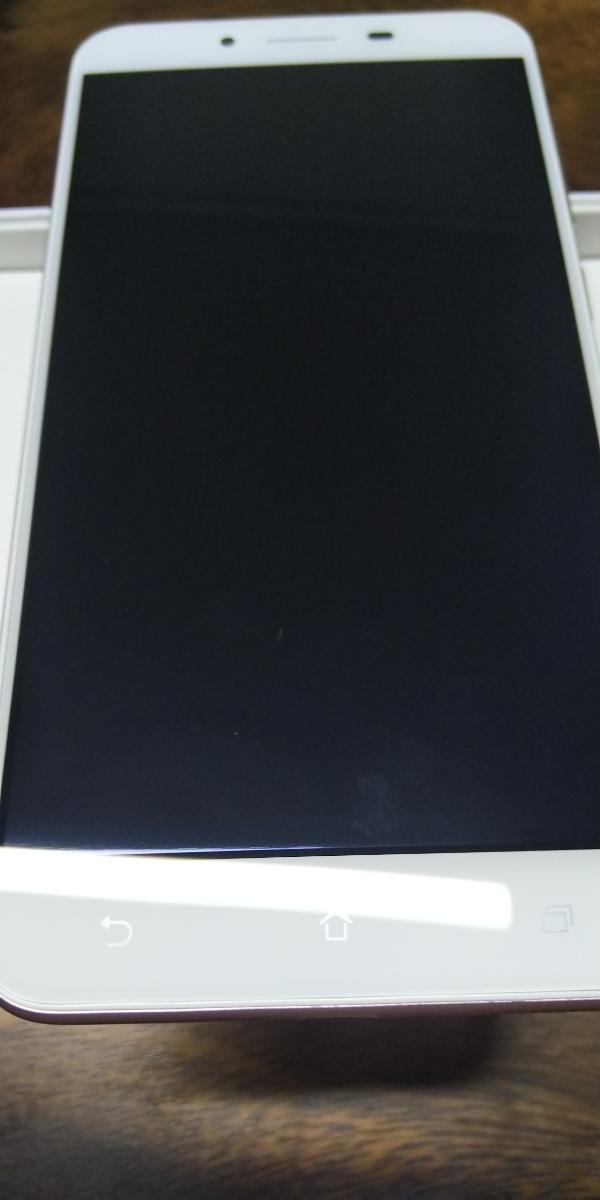 保証残あり ASUS Zenfone3 Max 5.5 ZC553KL ピンク スマホ本体 SIMフリー 箱 付属品あり_画像6