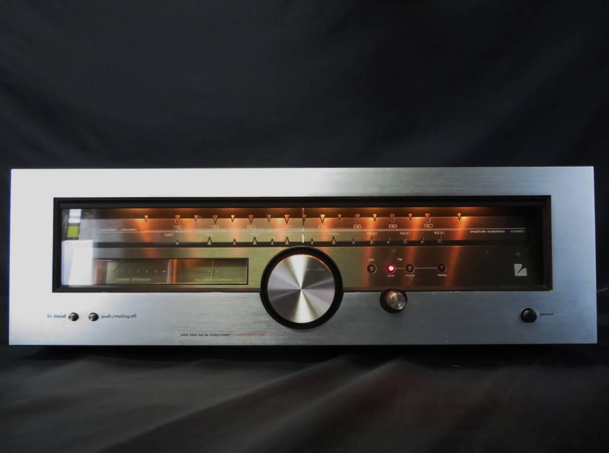 LUXMAN T-88V ラックスマン AM/FM ステレオ チューナー オーディオ機器 受信確認_画像2
