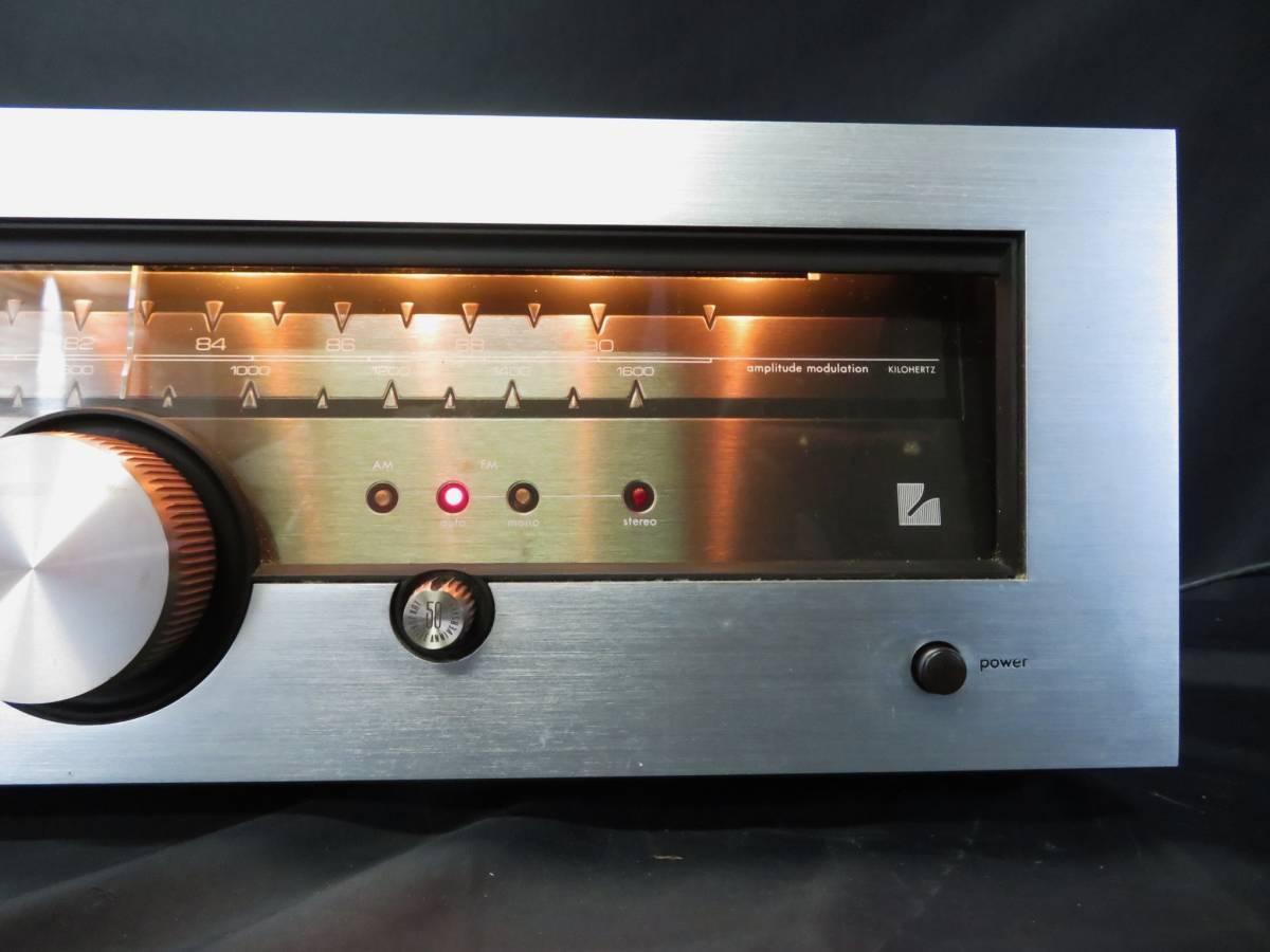 LUXMAN T-88V ラックスマン AM/FM ステレオ チューナー オーディオ機器 受信確認_画像3