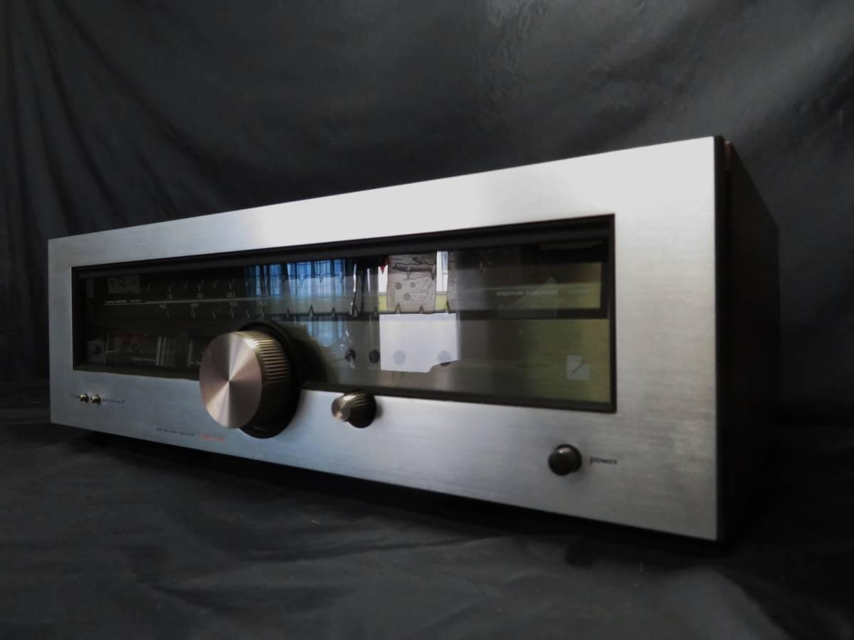 LUXMAN T-88V ラックスマン AM/FM ステレオ チューナー オーディオ機器 受信確認_画像10