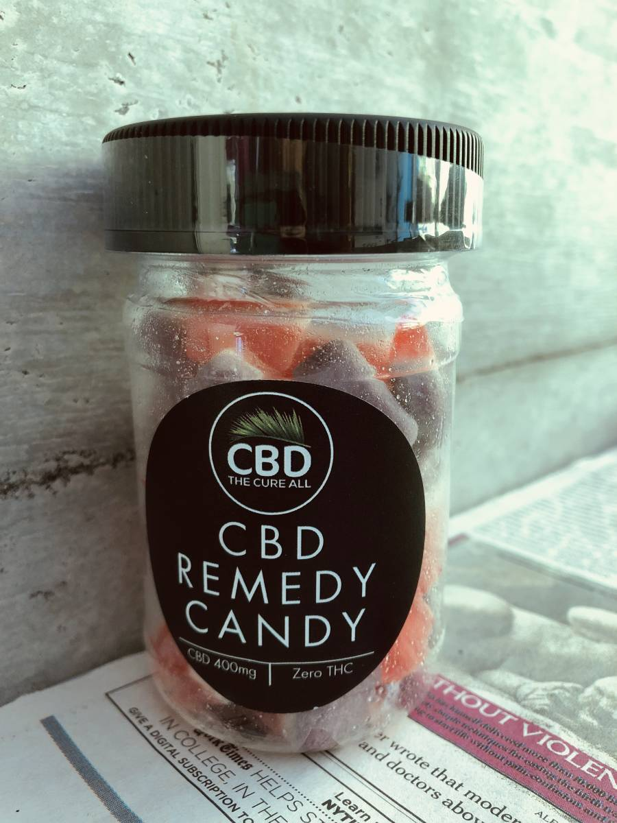 CBD 配合 フルーツ味 CBD400mg 高濃度 高品質 CBDoil ヘンプ remedy candy グミ 健康食品 オイル アメリカお菓子 元気 送料無料