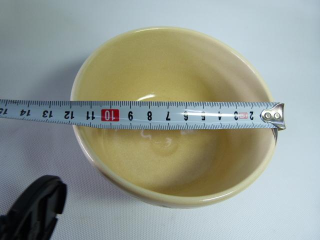 阿山(造)色絵茶碗 共箱 茶道具 現代工芸 未使用 京焼_画像6