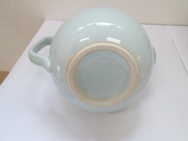 有田焼 青磁水注 水差し 煎茶道具 ポット 急須 _画像5