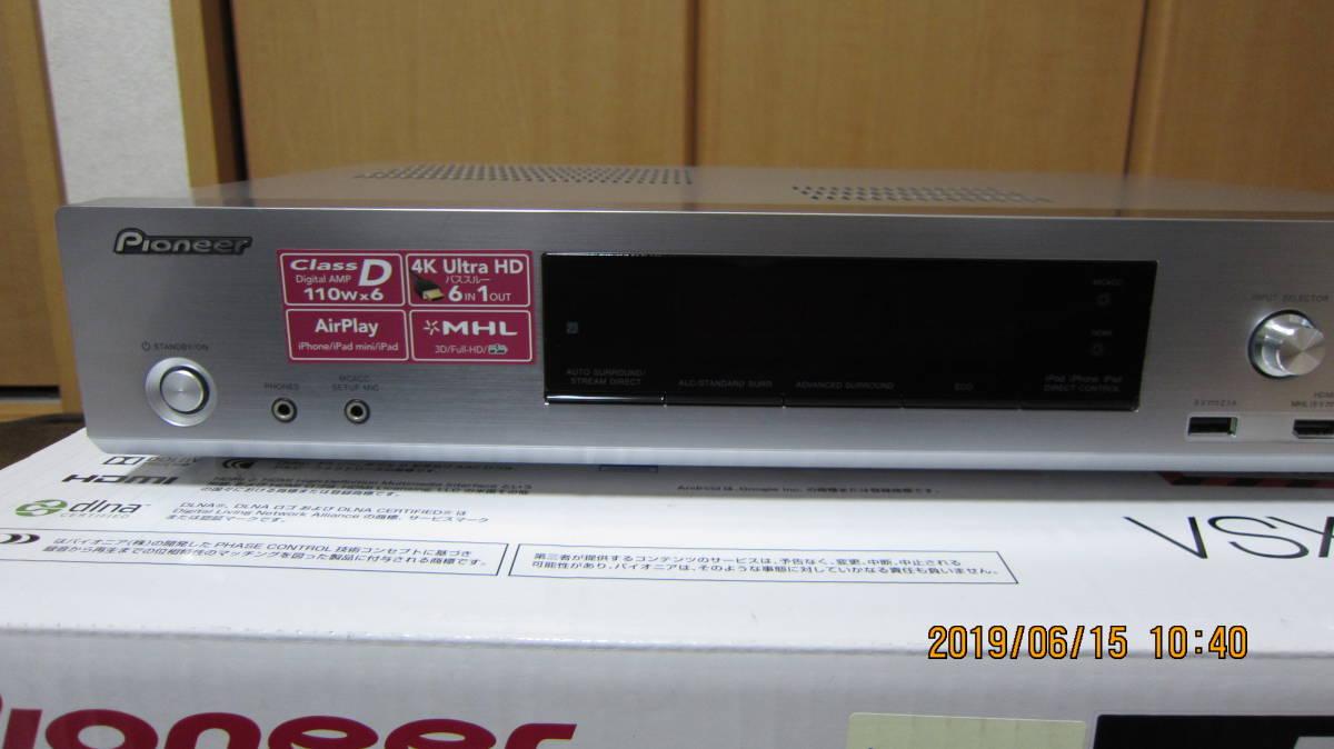 Pioneer AVレシーバー VSX-S510 パイオニア 薄型AVアンプ テレビラックに収まります _画像7