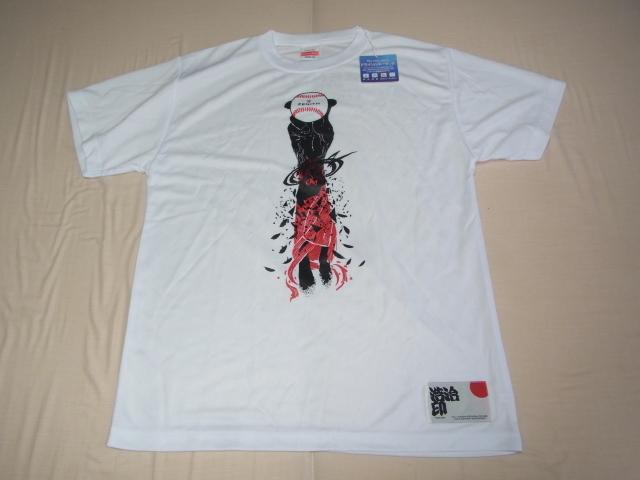 ■未使用 非売品 ノベルティ VIP顧客に配布 2018年!ZENITH(ゼニス)×上原浩治 限定50本記念 Tシャツ サイズ:M _画像1