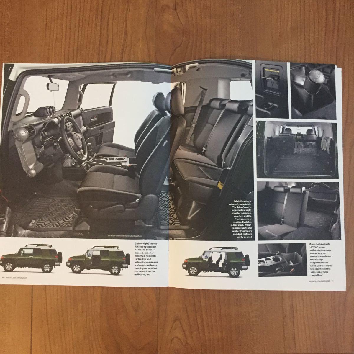 トヨタ FJ クルーザー 2010 カタログ US版_画像5