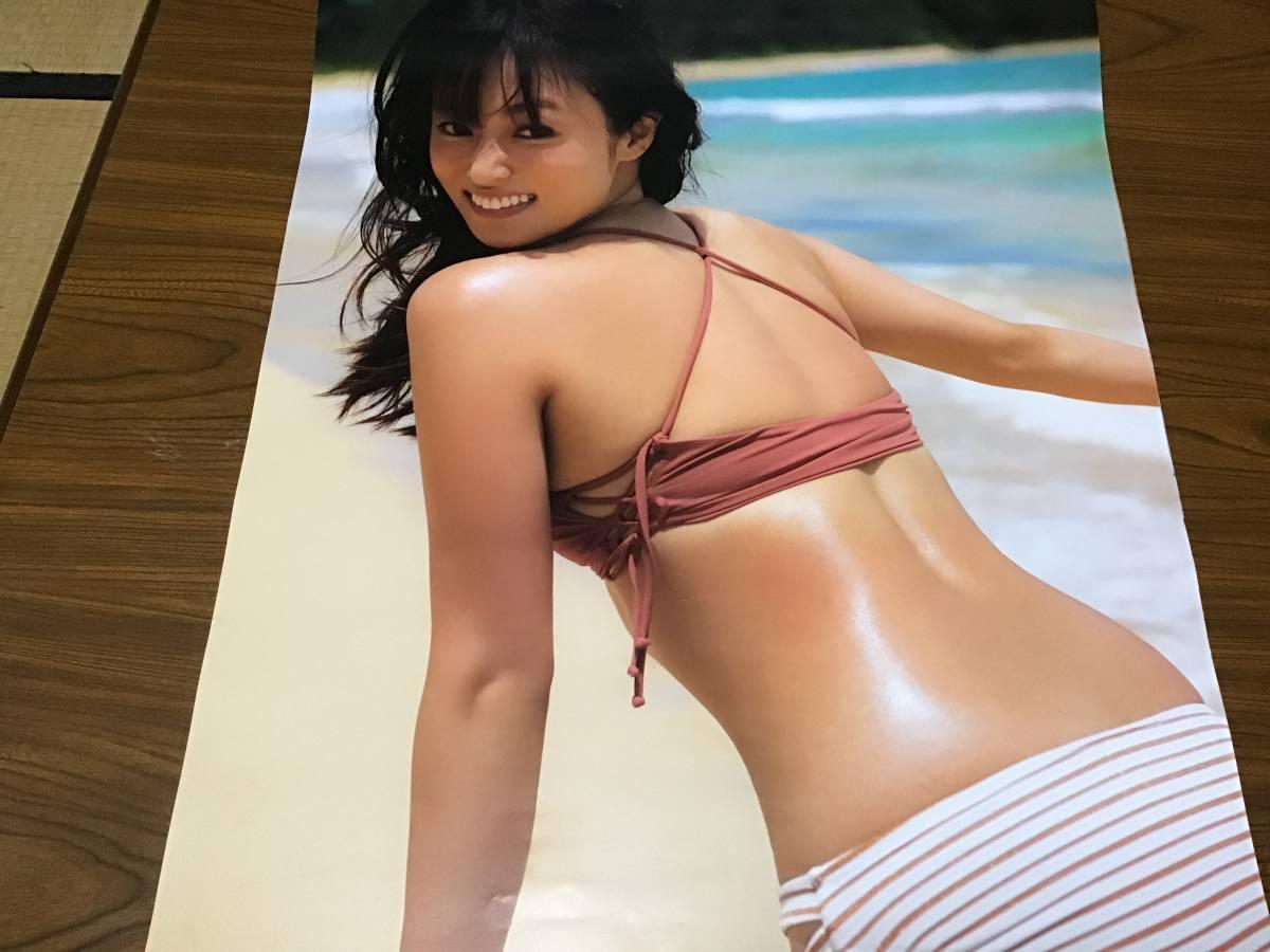 【見本品】深田恭子 2019年カレンダー 壁掛け B2 CL-185/深キョン/水着姿掲載_画像5