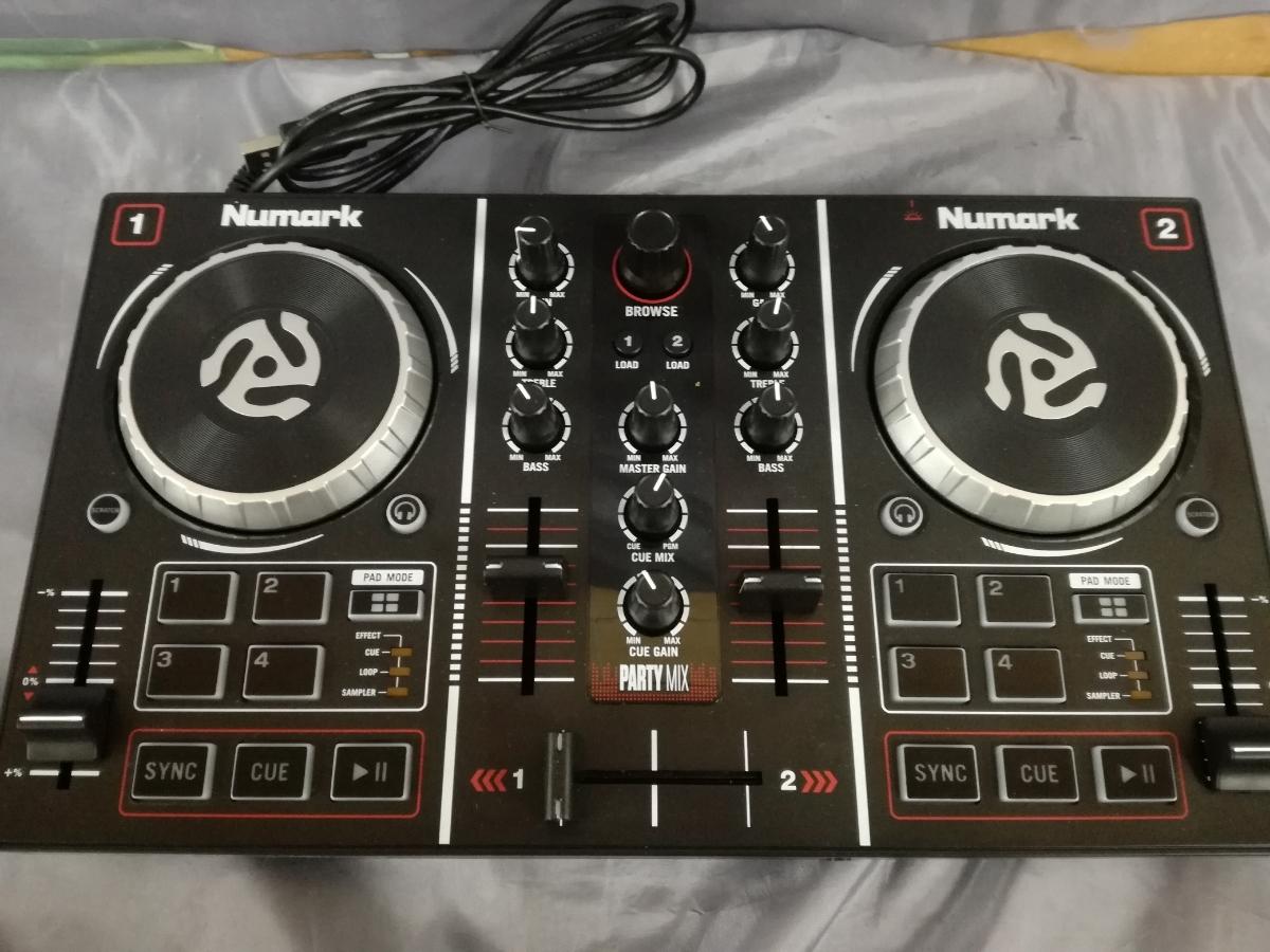 J319 Junk free shipping mirror ball attaching DJ controller