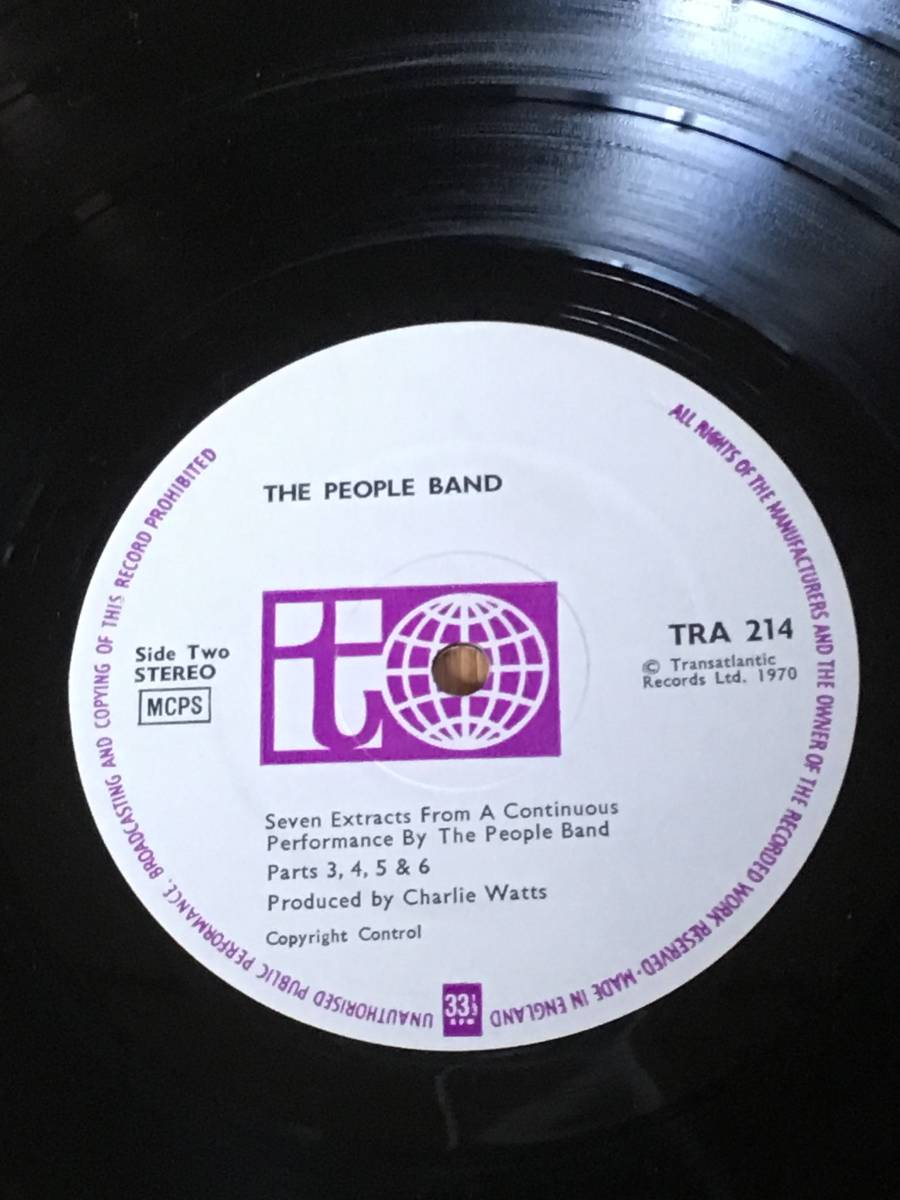 ◆The People Band◆ザ ピープル バンド◆ produced by Charlie Watts ◆ チャーリー ワッツ ◆_画像4