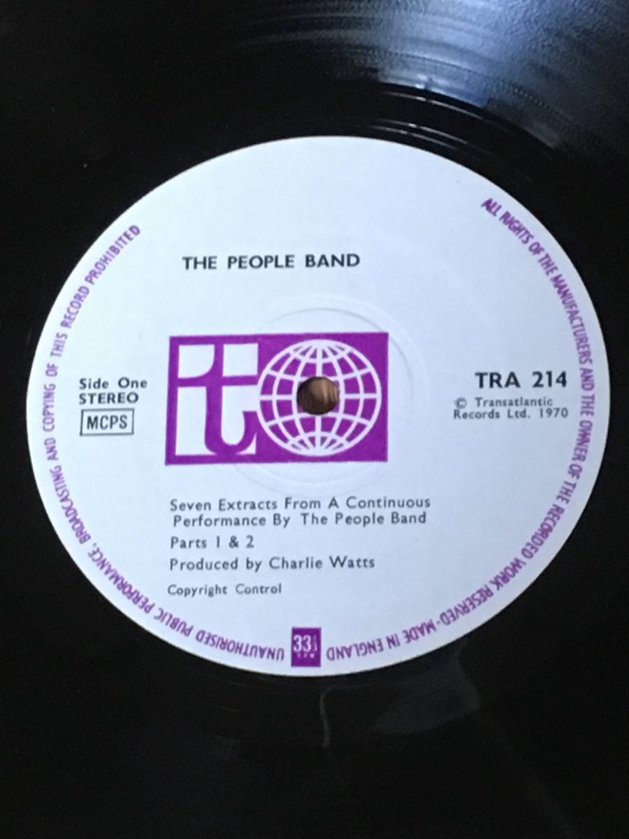 ◆The People Band◆ザ ピープル バンド◆ produced by Charlie Watts ◆ チャーリー ワッツ ◆_画像3
