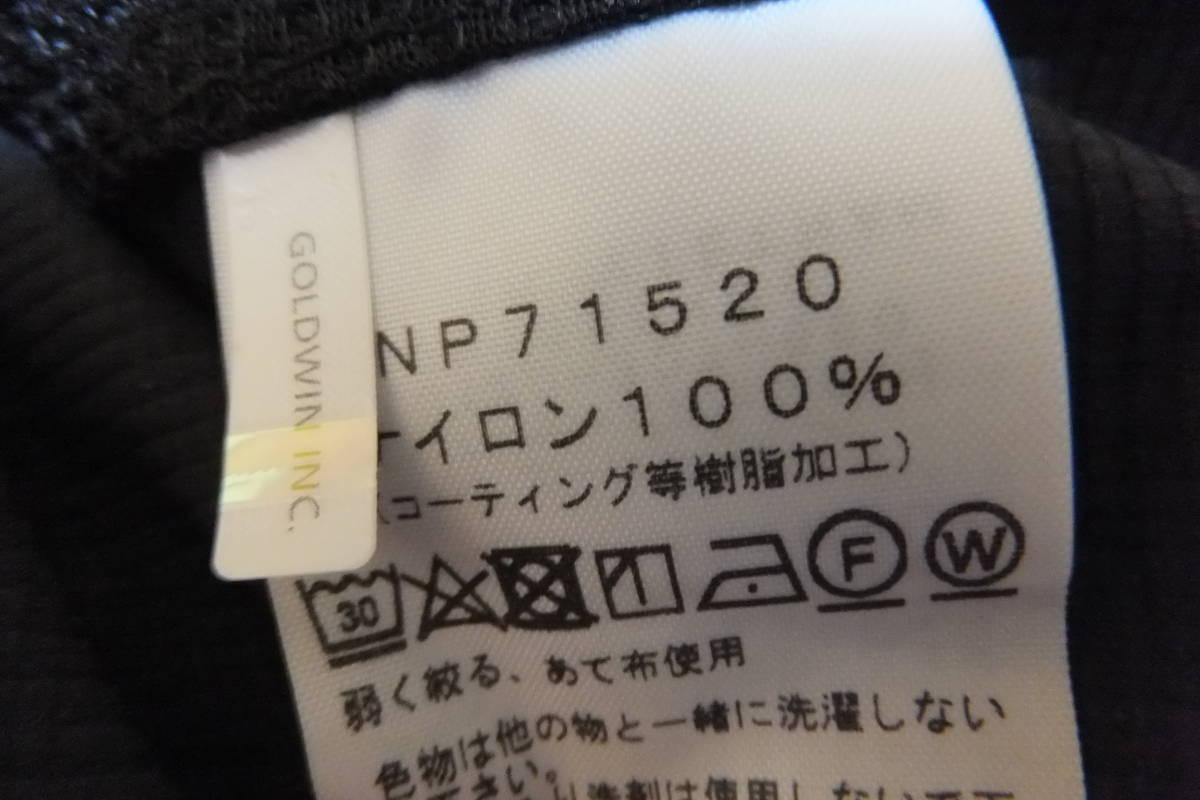 NP71520 ノースフェイス スワローテイルフーディー ブラック【XL】 極美品_画像3