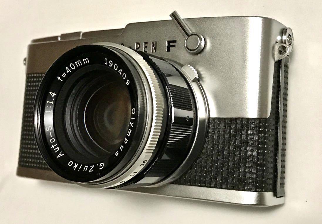 美品 希少 オリンパス-ペン OLYMPUS-PEN FT Olympus F.Zuiko Auto-S 40mm f1.4 ハーフサイズ 銘機 テスト撮影済み_画像5
