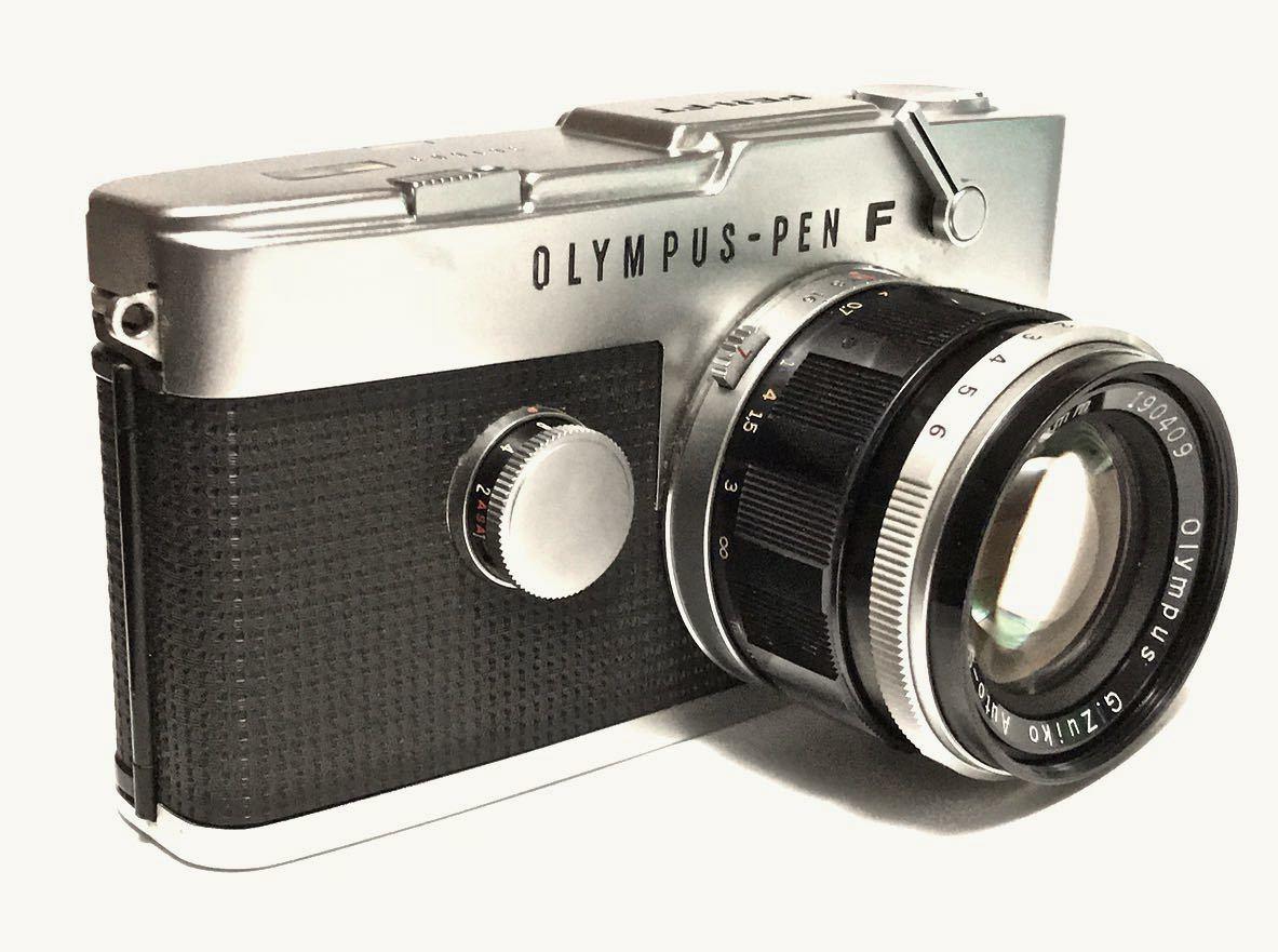 美品 希少 オリンパス-ペン OLYMPUS-PEN FT Olympus F.Zuiko Auto-S 40mm f1.4 ハーフサイズ 銘機 テスト撮影済み_画像6