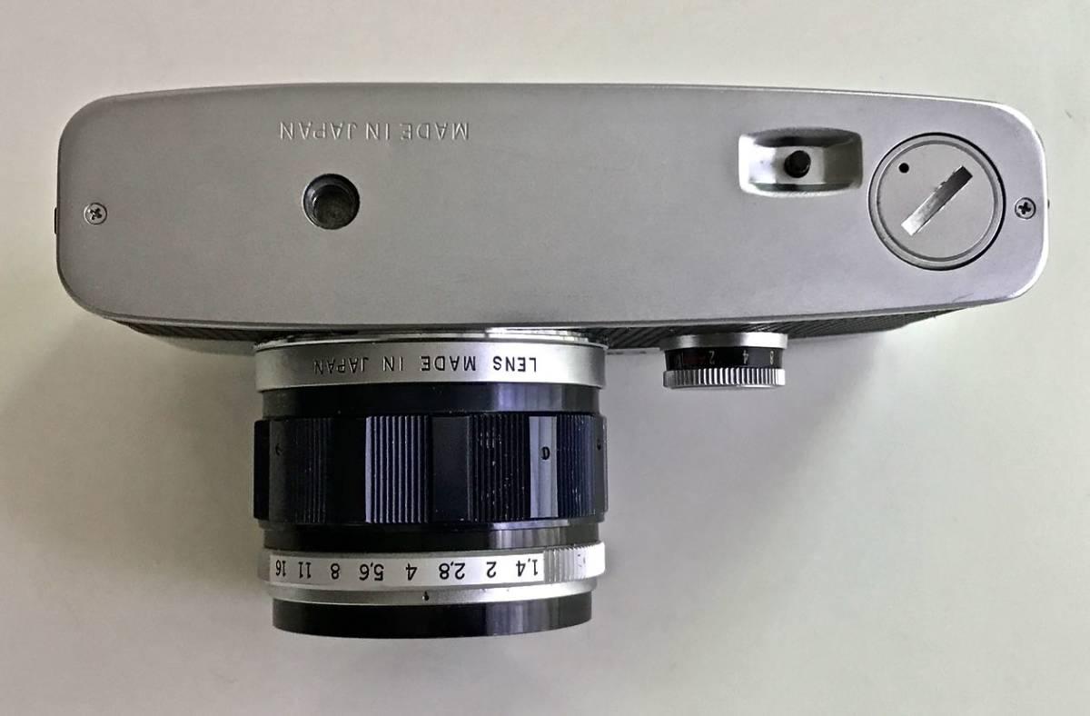 美品 希少 オリンパス-ペン OLYMPUS-PEN FT Olympus F.Zuiko Auto-S 40mm f1.4 ハーフサイズ 銘機 テスト撮影済み_画像9