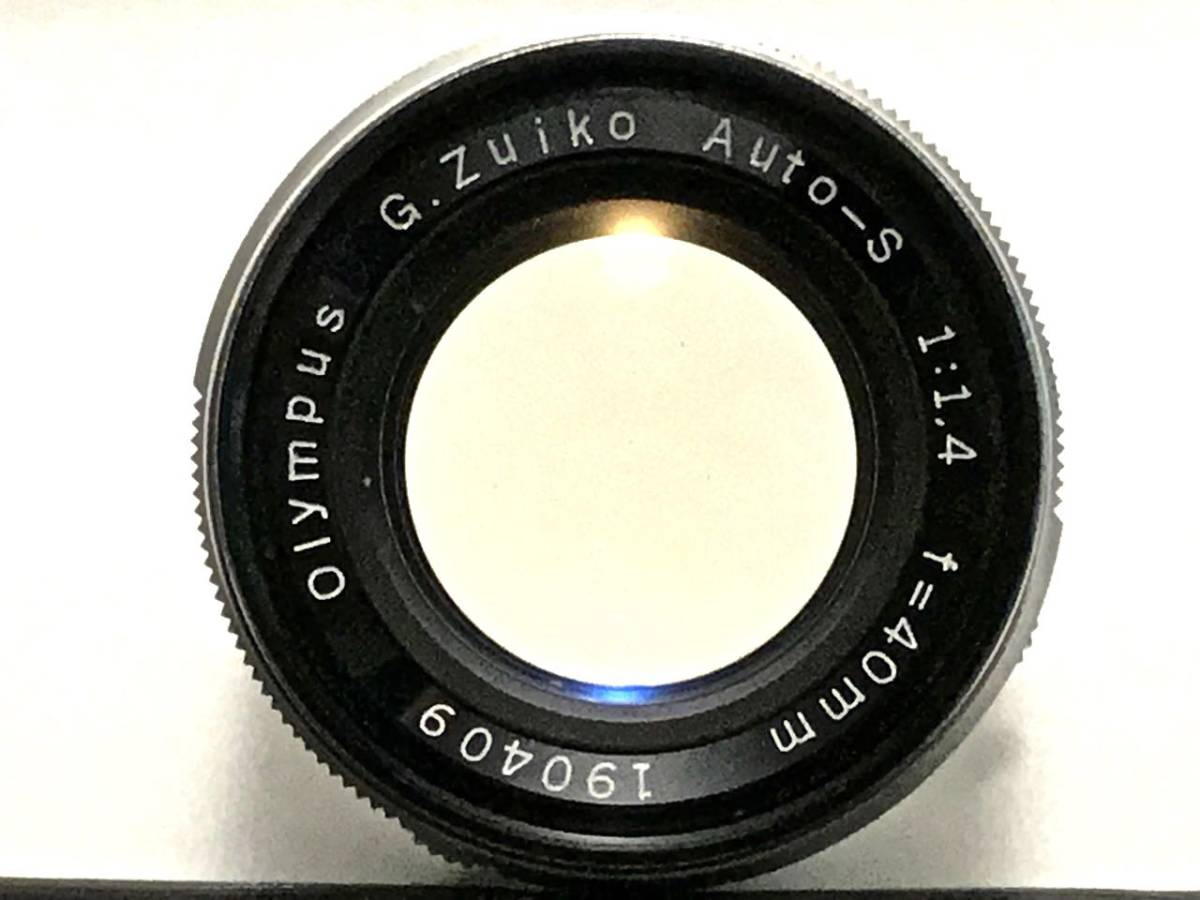 美品 希少 オリンパス-ペン OLYMPUS-PEN FT Olympus F.Zuiko Auto-S 40mm f1.4 ハーフサイズ 銘機 テスト撮影済み_画像4