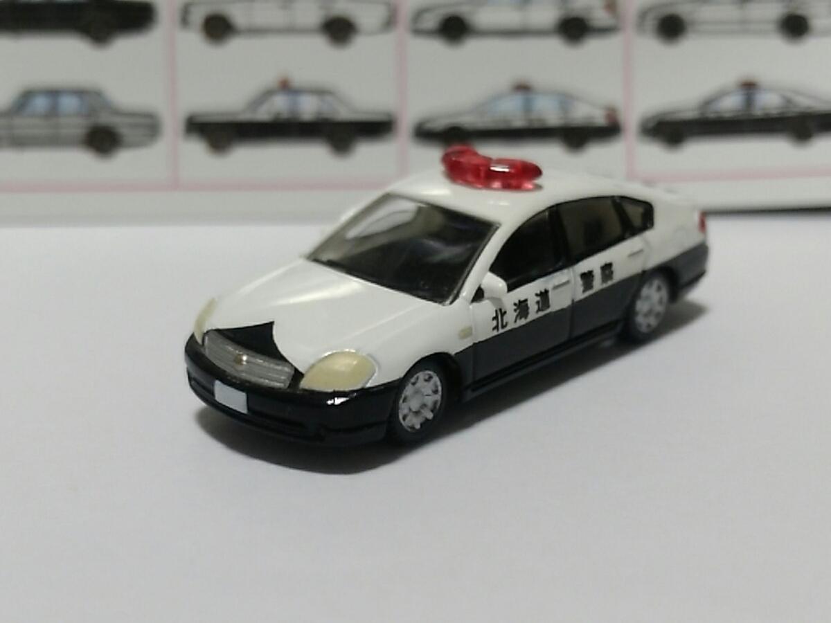 1/150 カーコレクション 第10弾 日産 ティアナ パトカー