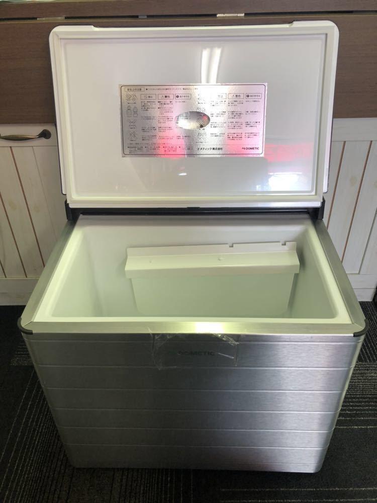 ◆新品未使用品!! クーラーボックス DOMETIC ドメティック ACX35G 3way ポータブル冷蔵庫・保冷庫 AC100V DC12V カセットガス 容積31L_画像3