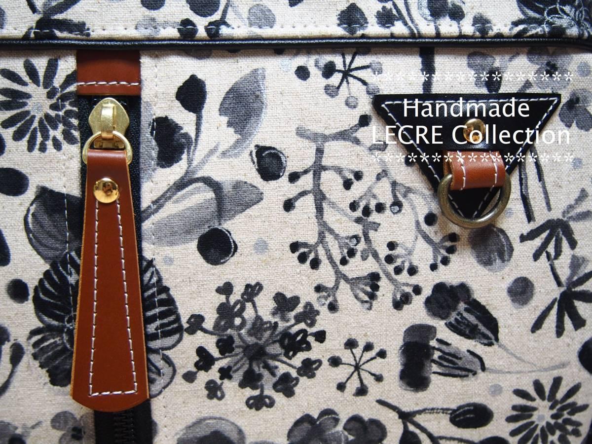 Handmade ◆LECRE Collection ◆ 4way ラウンドリュックバッグ ♪ _画像7